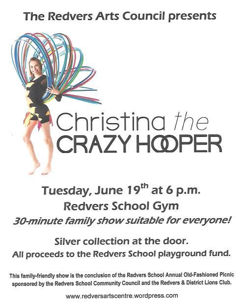 RAC presents Christina the Crazy Hooper