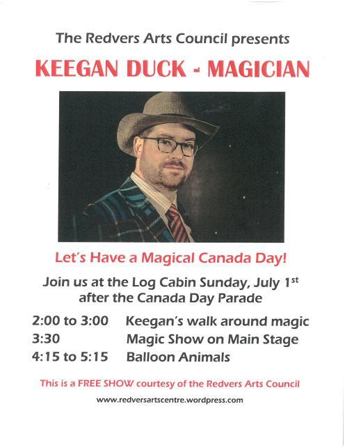 Keegan Duck Canada Day